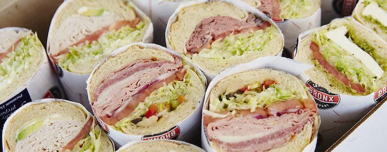 Bronx Sandwich Company Catering Box